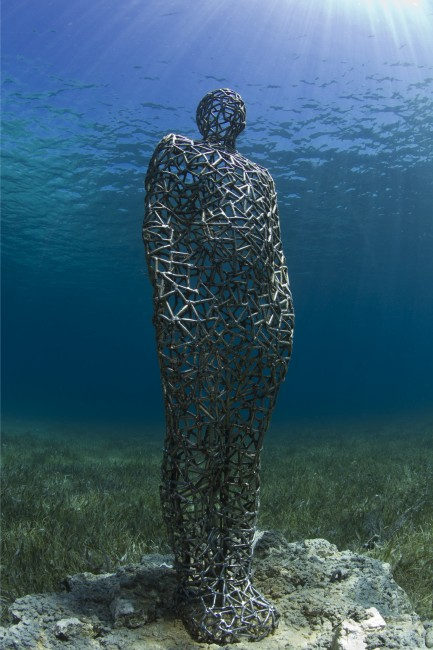 Vein Man, 2013. MUSA Collection, Punta Nizuc, Mexico. Foto: Jason deCaires Taylor