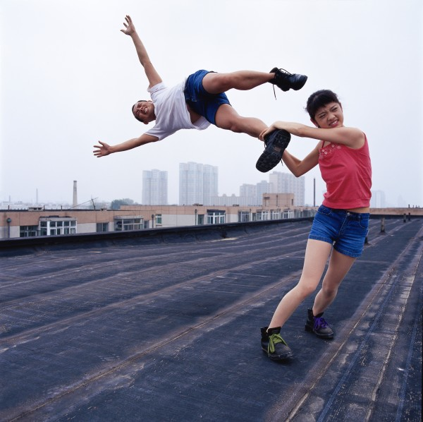 Li Wei, Love at the high place 1 047 01, 2004, photo 100x100 cm