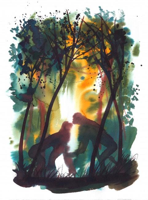 Alessandro Sanna, illustrazione senza titolo per L'Espresso