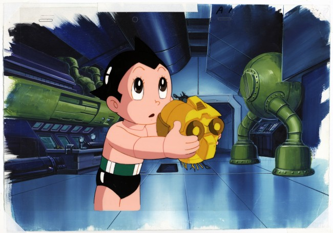 Osamu Tezuka, Tetsuwan Atomu (Astro Boy), disegno, Collection of Mike and Jeanne Glad