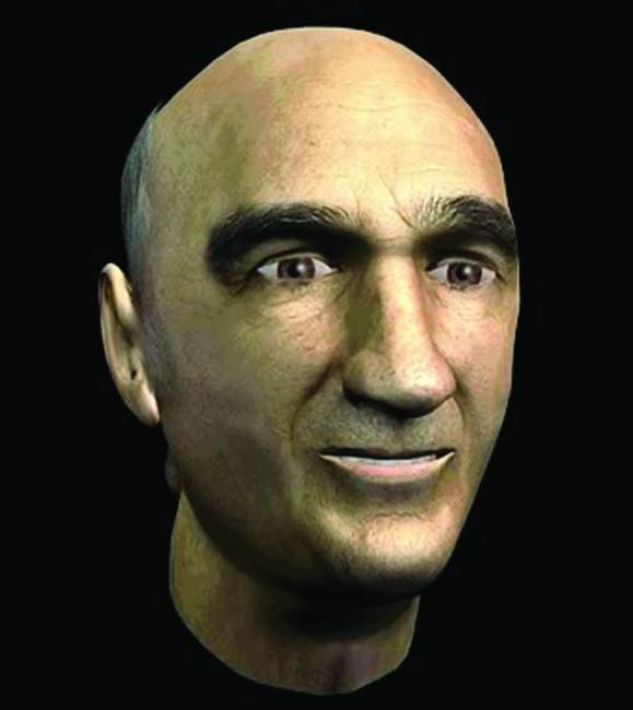 Stelarc, Prosthetic Head, computer animation del volto di Stelarc, 2003