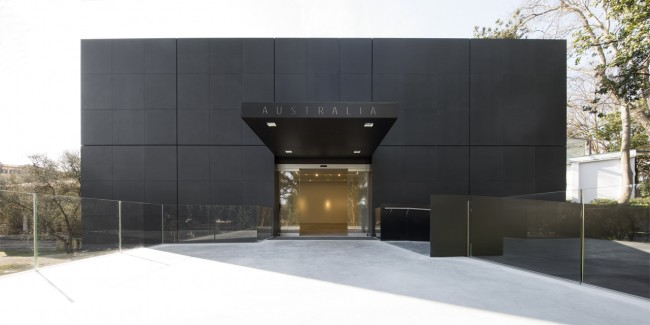Australian Pavilion entrance, Image credit: John Gollings