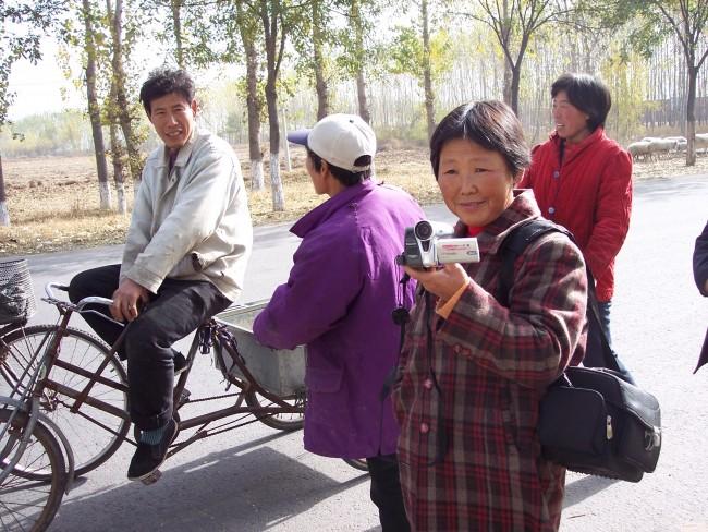 ,Beijing village filmmaker SHAO Yuzhen, 2005