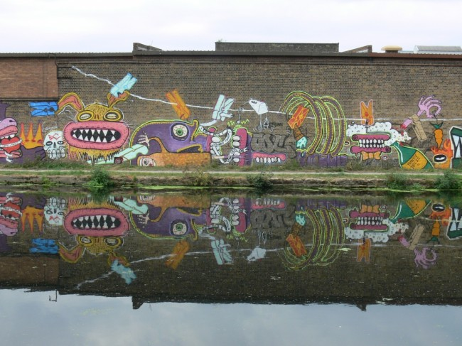 Burning Candy, Dirty Laundry, Hackney Wick (cancellato), photo by Sweet Toof