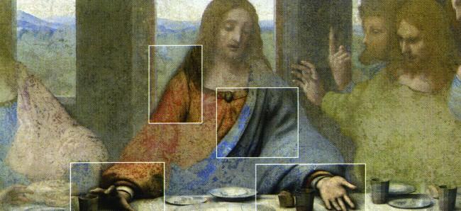 Peter Greenaway, L'Ultima Cena di Leonardo, Milano, Palazzo Reale, Sala delle Cariatidi, 16 aprile – 6 settembre 2008