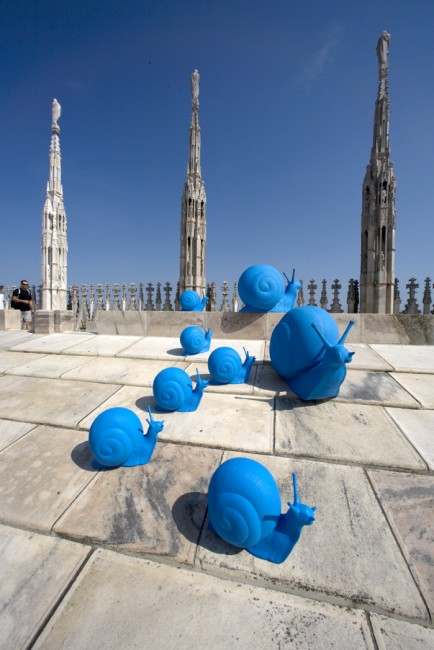 Cracking Art Group, Duomo, Milano, 2012