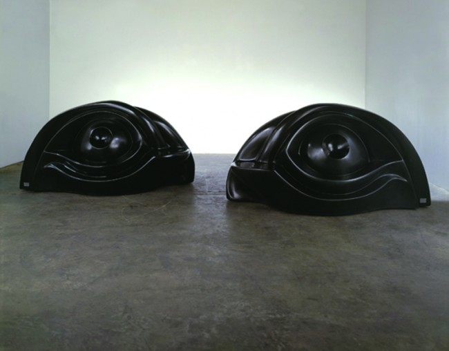 Luise Bourgeois, Eye Benches, 1996