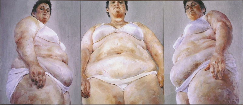 Strategy (South Face/Front Face/North Face) (1993-94) di Jenny Saville