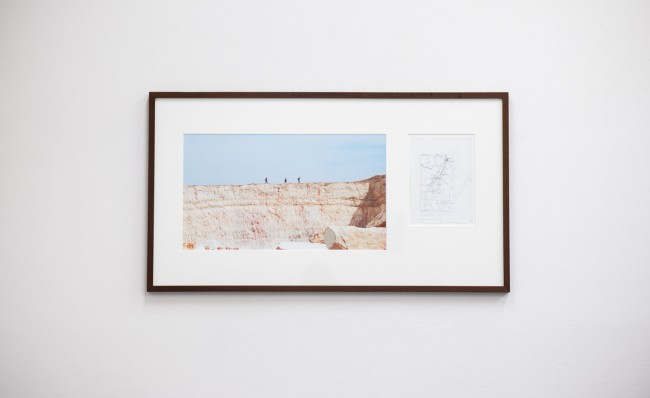 Matteo Guidi, Giuliana Racco in collaborazione con Saleh Khannah_In Between Camps, 2013, 40x70cm, con il supporto di Campus in Camps