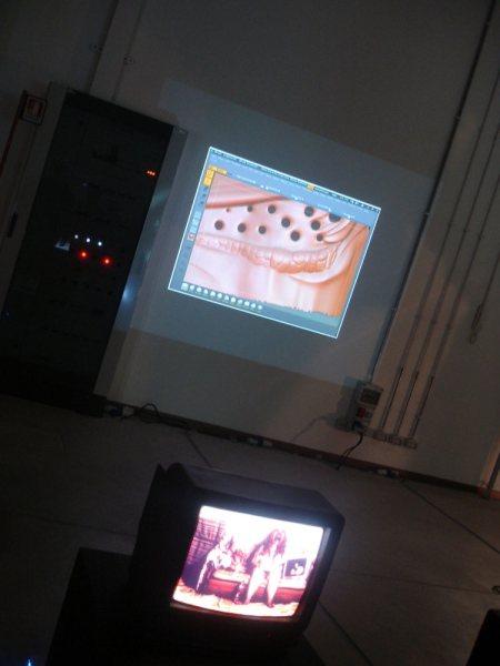 Desiderio, Freak, video installazione, Milano 1978, artista invitato La Habana Digital