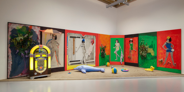 Martial Raysse, Raysse Beach, 1962 Centre Pompidou - Musée national d'art moderne, Paris Installation view at Palazzo Grassi 2015 Ph : © Fulvio Orsenigo © Martial Raysse by SIAE 2015