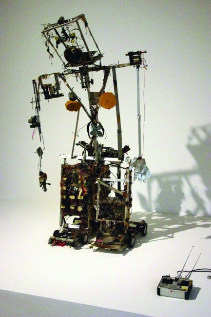 Nam June Paik, Robot K-456, 1964. Immagine da www.flickr.com
