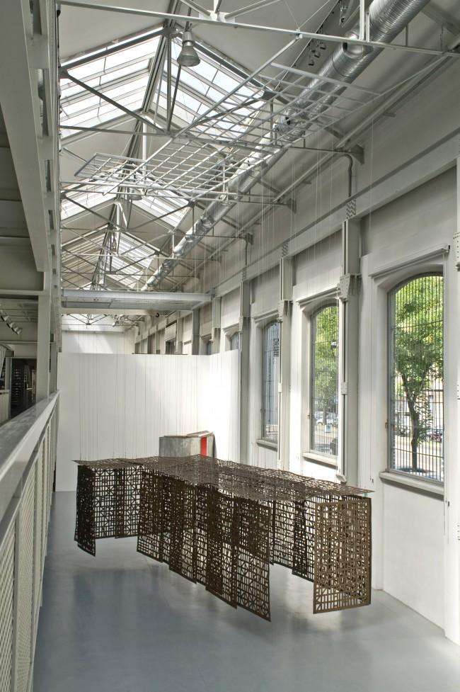 Cristina Iglesias, Suspended Corridor III, 2006, ph Dario Tettamanzi