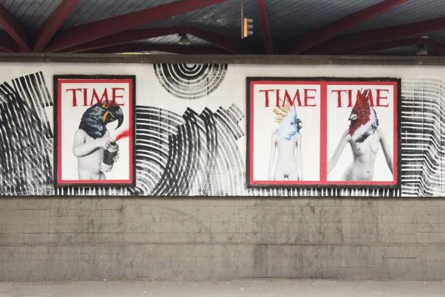 Cheap, street poster art festival: Vinz Feel Free. Foto: Alessandra Bincoletto