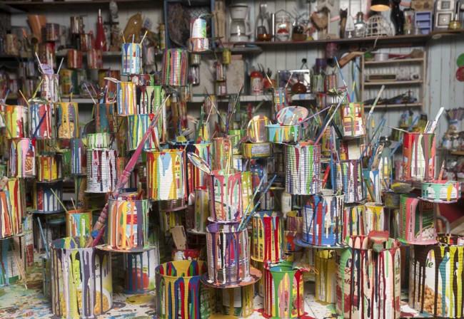 BGL, Canadassimo, 2015. In corso di realizzazione per il Padiglione del Canada alla 56. Esposizione Internazionale – la Biennale di Venezia 2015 © Ivan Binet, Courtesy BGL, Parisian Laundry, e Diaz contemporanea, Toronto
