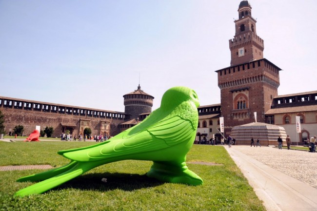 Cracking Art Group, Castello Sforzesco, Milano, 2014