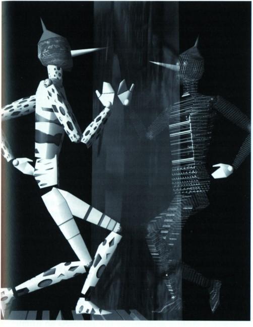 Incontro del Pinocchio Marionetta e Pinocchio Virtuale, Mediartech,  in e-Art, arte, società e democrazia nell'era della rete- Editori Riuniti