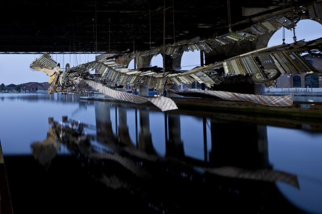 Xu Bing, Phoenix, 2012-2013, 56. Esposizione Internazionale d'Arte - la Biennale di Venezia, All the World's Futures, Photo by Alessandra Chemollo, Courtesy by la Biennale di Venezia