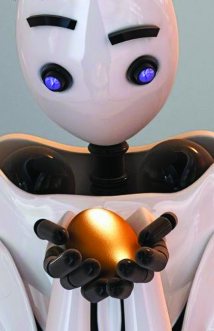 immagine di robot immaginario, da www.gettyimage.com/creative/royaltyfree