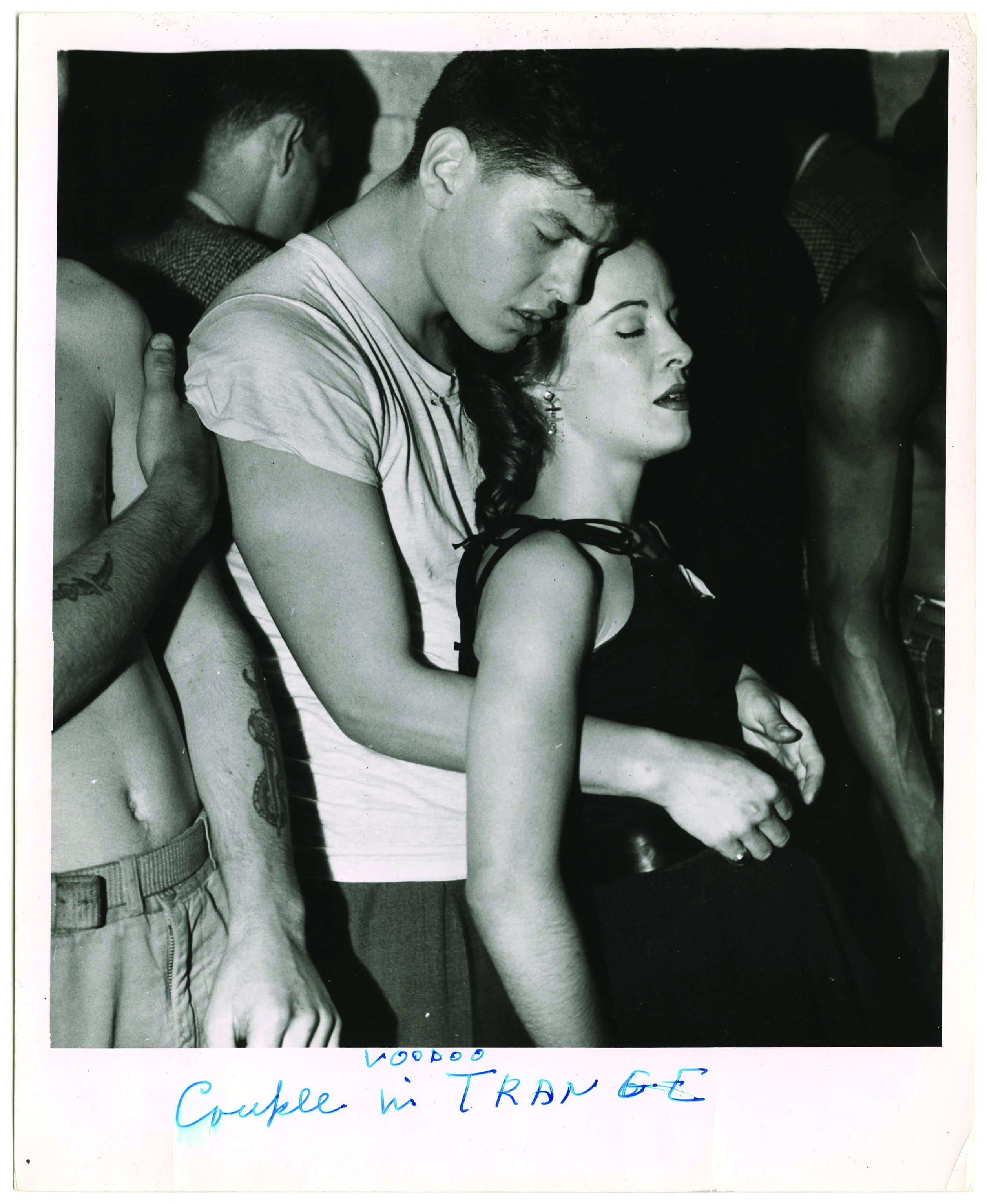Weegee, Couple in Voodoo Trance, ca. 1956 © Weegee / International Center of Photography