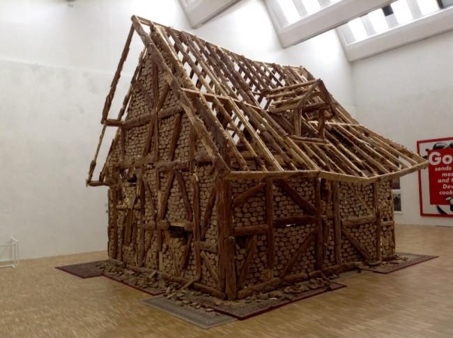 Urs Fischer, Bread House, 2004-5