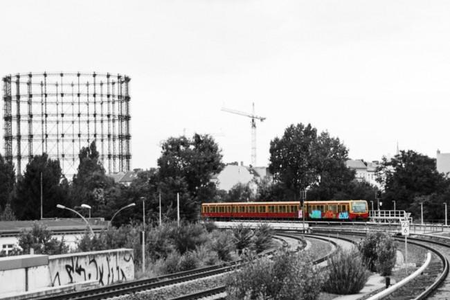 S-Bahn, 2012, photo by Fahrende Farben aus Berlin - Lackierte Züge