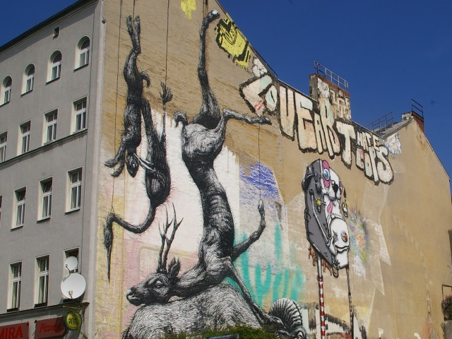 Roa, One truth, 1UP, photo by Rae Allen