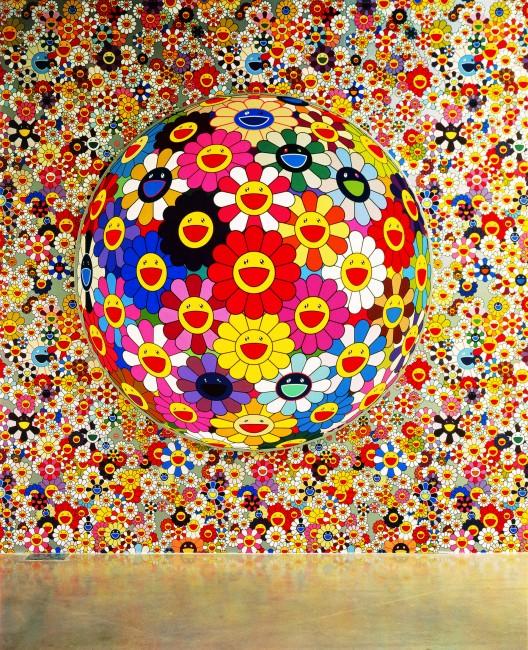 Takashi Murakami, Flowerball, (3D), 2002