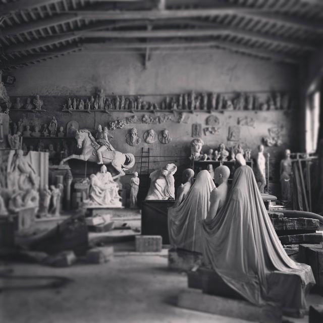 Studi di Scultura Nicoli – Foto © Eleonora Roaro