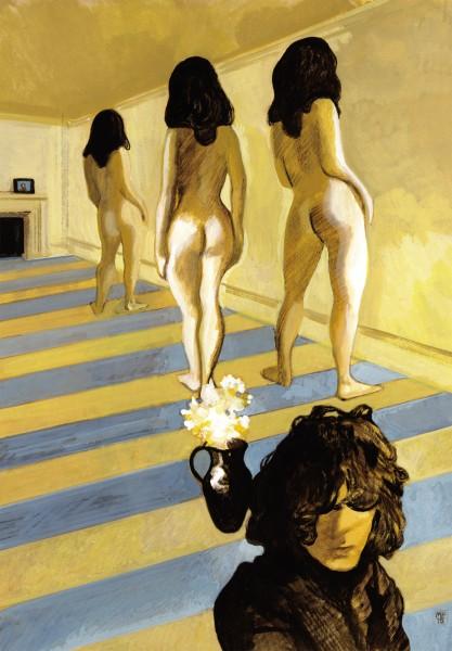 Manuele Fior, Syd Barret (Pink Floyd)