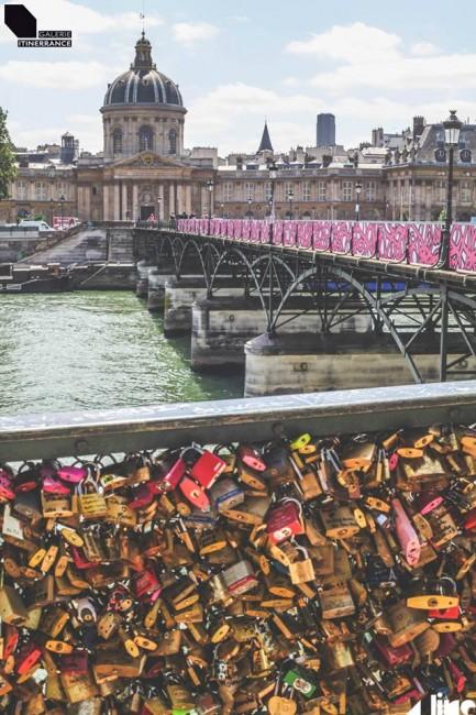 eL Seed, Ponts des Arts, Parigi