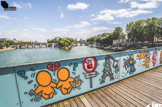 Jace, Ponts des Arts, Parigi