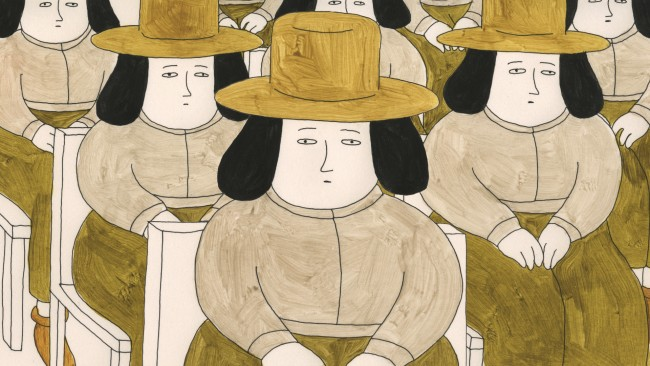 Sarina Nihei, Small People with Hats,  Regno Unito, 2014