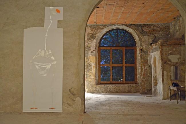 Atelier dell'Errore, Giulia, Ancora senza nome, 2014, tecnica mista su carta. Courtesy Atelier dell'Errore