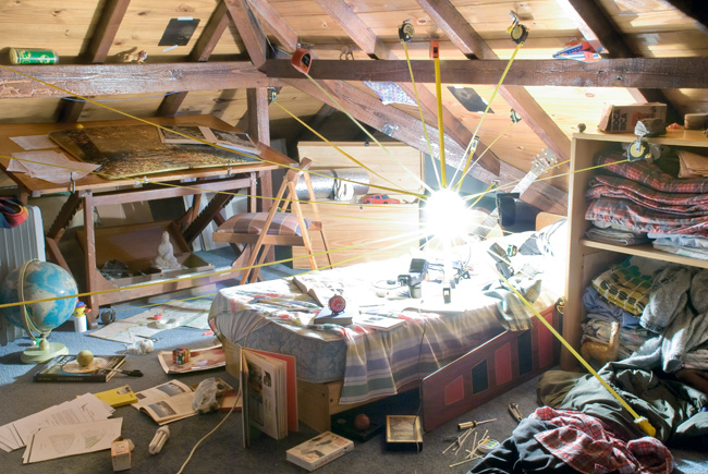 Nicolas Bacal, La gravité de mon orbite autour de toi (La gravedad de mi órbita alrededor tuyo), 2009-2010 ; 95,7 x 142 cm, tirage couleur, Courtesy de l'artiste