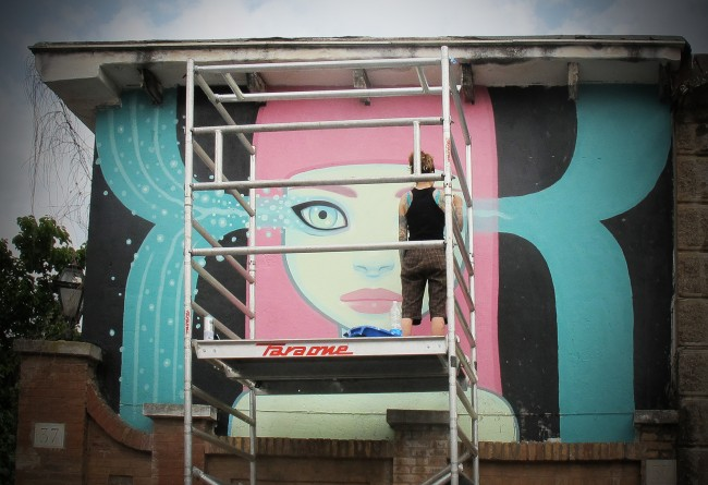 Tara McPherson. Roma. Courtesy Dorothy Circus Gallery