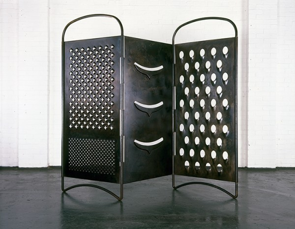 Mona Hatoum - Grater Divide © Courtesy of the artist © Photo Courtesy White Cube [Iain Dickens]