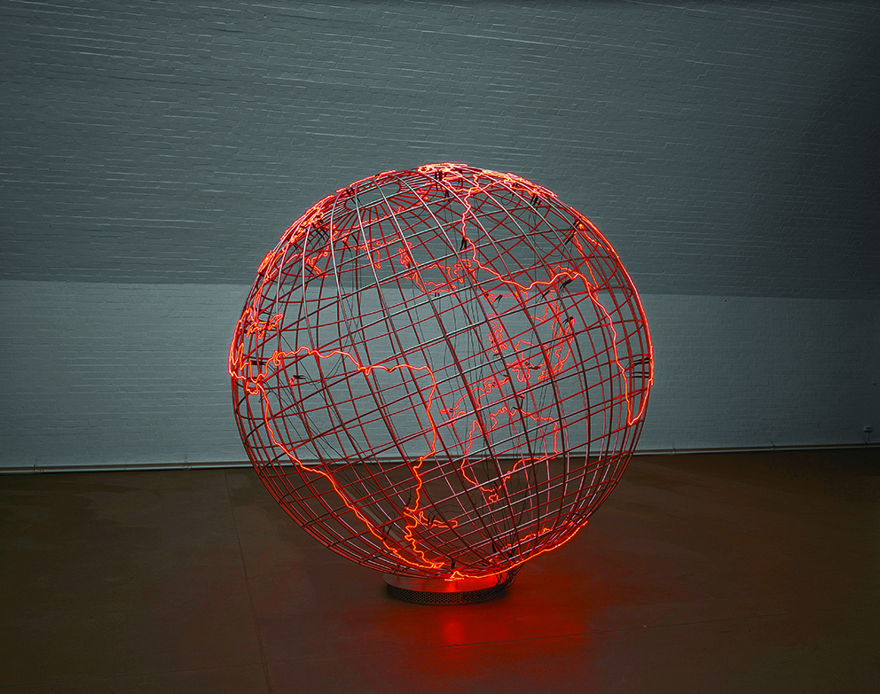 Mona Hatoum - Hot Spot © Courtesy of the Artist © Photo Courtesy of the Artist and Courtesy Galerie