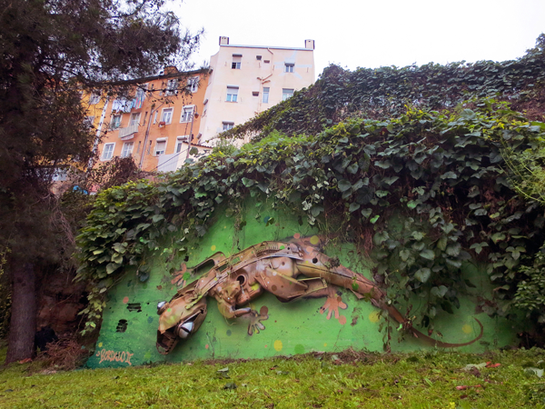 Bordalo II. Courtesy of the artist