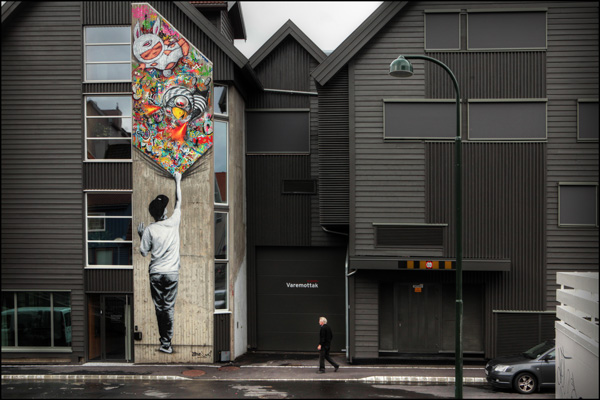 Martin Whatson, photo Ian Cox, 2014, for Nuart
