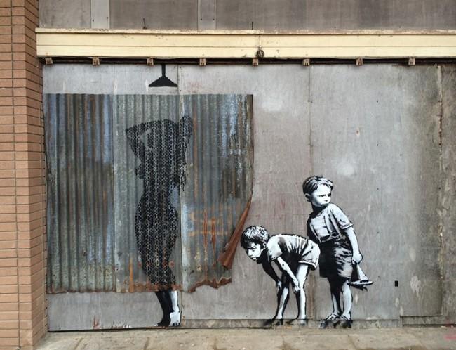 "Tratta dalla pagina Facebook ""Banksy Dismaland"""