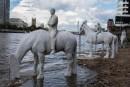 The Rising Tide: le sculture di Jason deCaires Taylor nel Tamigi