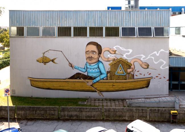 SeaCreative, Ravenna, Subsidenze 2014