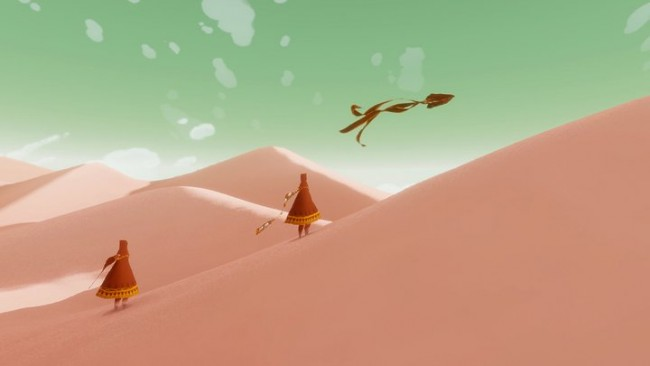Journey, screenshot