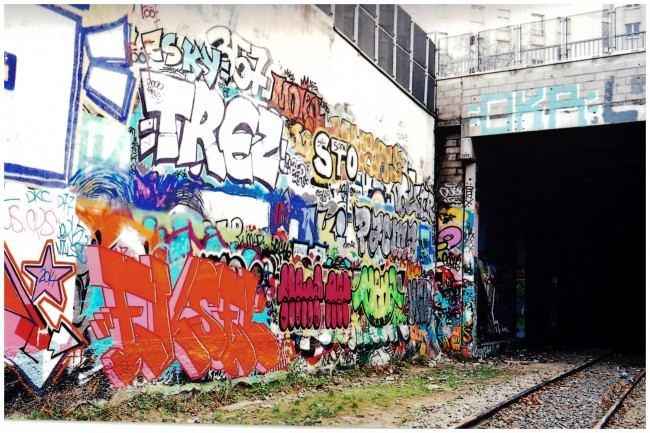 Petite Ceinture, photo by Julian Wrong, foto con licenza Creative Commons BY-SA 2.0