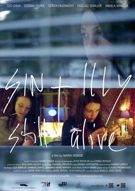 """Poster del film di Maria Hengge, """"Sin & Illy Still Alive"""""""