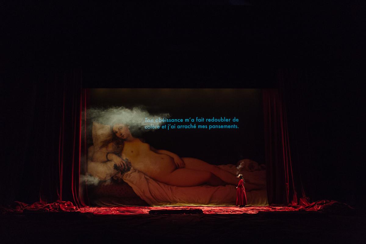 Angélica Liddell, La prima lettera di San Paolo ai corinzi. Cantata BWV 4, Christ lag in Todesbanden. Oh, Charles! -spettacolo dal Ciclo delle Resurrezioni