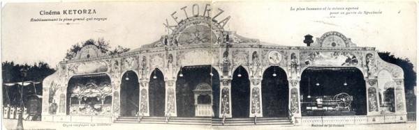 Cinema Kétorza realizzato nel 1989, struttura mobile