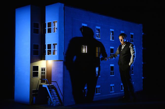887 di Ex Machina/Robert Lepage. Foto © Érick Labbé