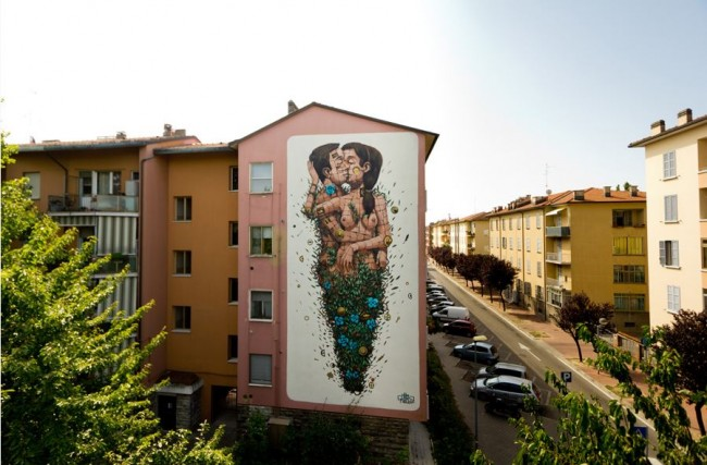 Pixel Pancho, The last kiss, Ravenna